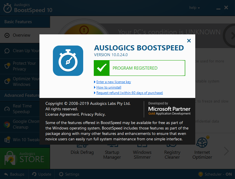 Auslogics BoostSpeed Crack